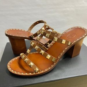 Ash Shoes - COPY - 🆕 Ash Playa Studded Heeled Sandals  NEW Sz…